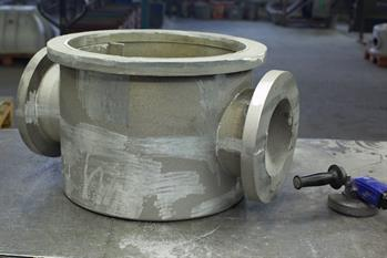 Aluminium castings for pumps, filters, current meters and fittings